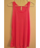 Womens Bella Canvas New Pink Flowing Racer Back Tank Top Size XS S M L XL  - $14.95