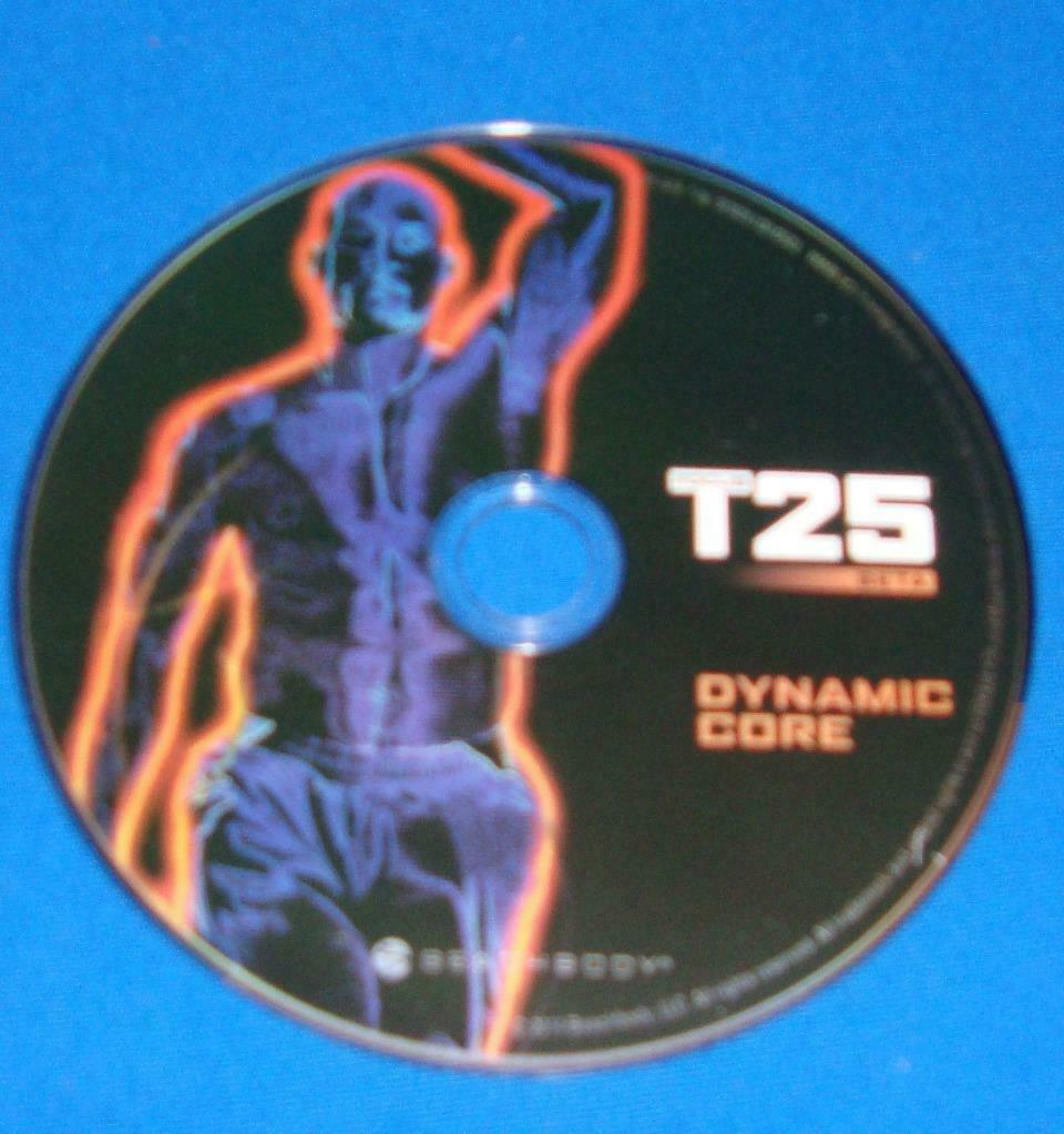BEACHBODY FOCUS T25 BETA DYNAMIC CORE  REPLACEMENT DISC DVD