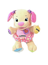Fisher Price Laugh and Learn Dog Puppy Talking Plush Musical Learning Toy - $9.90