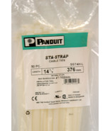"""NEW 50 pc PANDUIT SSTH-L Cable Zip Ties 14 7/8"""" inches  STA STRAP STD na... - $19.79"""
