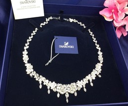 AUTHENTIC SWAN SIGNED SWAROVSKI DIAPASON LARGE ALL-AROUND NECKLACE 51467... - £174.32 GBP