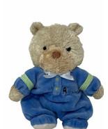 "Carters Child of Mine Plush All Star Blue Teddy Bear Rattle Soft 7"" Stuf... - $9.99"
