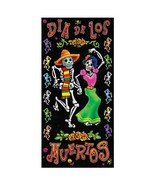 Day Of The Dead Door Cover Party Accessory 1 count 1/Pkg - $14.80
