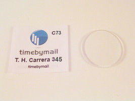 For TAG HEUER CARRERA 34.5 X 1mm replacement watch glass crystal Spare Part C31 - $24.02
