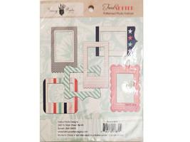 Fancy Pants Designs Trend Setter Patterned Photo Frames, Set of 6 image 2