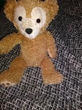 Disney Duffy Bear Hidden Mickey Plush Tan Sal  Teddy has marker on tag - $27.71