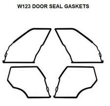Door Seals Weatherstrip Seal Mercedes Benz W123 Gaskets WAGOON TD 300TD - $100.14