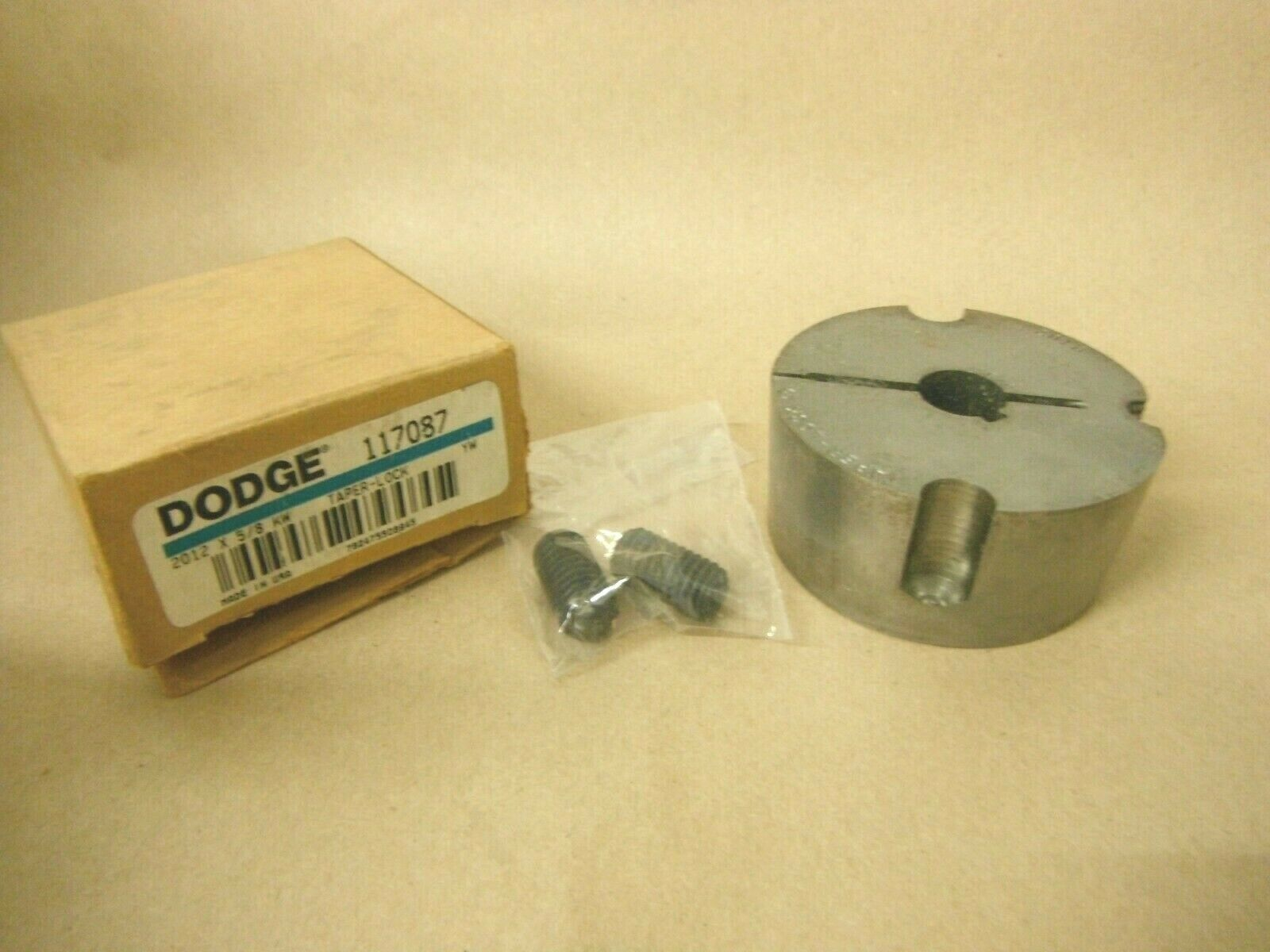 Primary image for 2012 x 5/8 DODGE TAPER LOCK BUSHING 117087