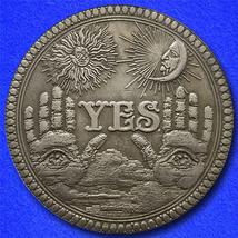 "YES or NO ""Hobo Nickel"" on Morgan Dollar Coin ** - $3.79"