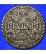 Yes or no hobo nickel on morgan dollar obverse thumbtall