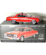 Ertl 1:18 1965 Chevy Chevelle SS396 diecast model American Muscle Authen... - $114.50