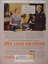 RARE Esquire Advertisement AD 1941 CAMEL cigarettes WWII Era - $8.00