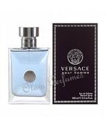 Versace Pour Homme Eau de Toilette Spray 3.4oz 100ml * New in Box Sealed * - $48.01
