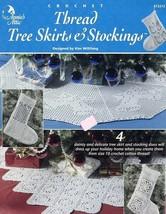 Thread Christmas Tree Skirts & Stockings PATTERN/INSTRUCTIONS/NEW Leaflet - $5.37