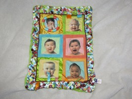 Manhattan Toy Baby Security Blanket Lovey Toy Tummy Time Infant Face Tag... - $39.59
