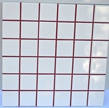 Wine Red Sanded Tile Grout - 5 lbs - $48.90