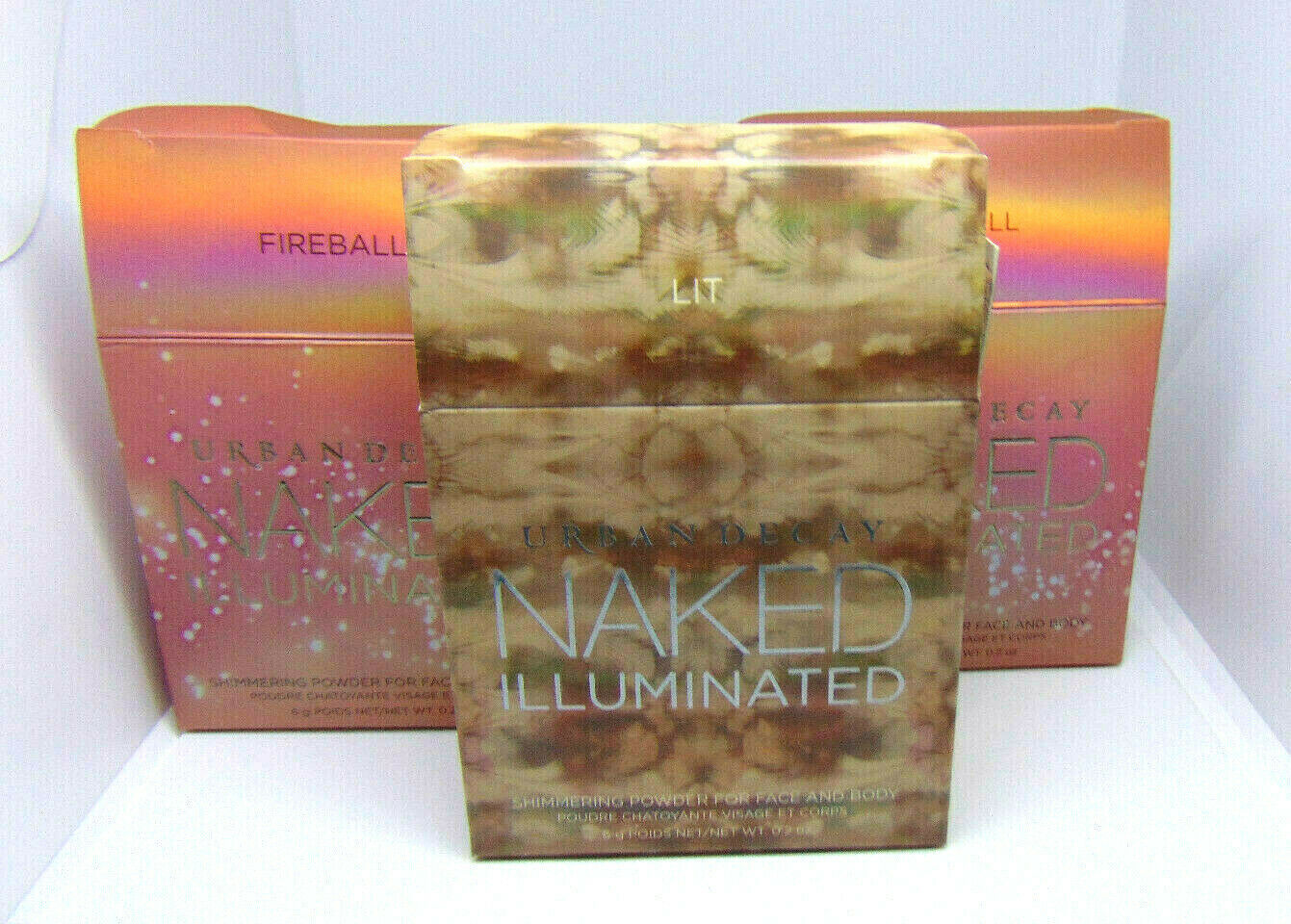 Primary image for URBAN DECAY NAKED ILLUMINATED  Shimmering Powder  0.20oz/6g  Choose Shade