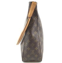 #33576 Louis Vuitton Looping Bucket Gm Tote Brown Monogram Canvas Shoulder Bag image 7
