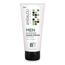 Andalou Naturals CannaCell MEN Smooth Glide Shave Cream 6 fl oz image 1