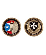 "ARMY FORT BUCHANAN PUERTO RICO 65TH INFANTRY 1.75"" CHALLENGE COIN - $15.67"