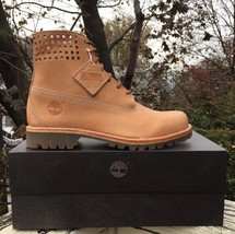 New Timberland® X Horween 6-IN Premium Perforated Collar Bare Naked Us 11.5M - $167.31
