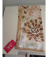 "ANNE KLEIN ~WOMEN'S FLORAL 100% SILK SCARF 27"" SQUARE New W Tag - $26.68"