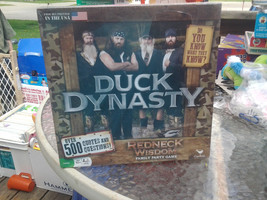 NEW Duck Dynasty Redneck Wisdom Family Party Board Game 10+ Boys & Girls - $23.15