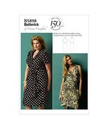 Butterick Ladies Plus Size Sewing Pattern 5898 Wrap Dresses - $12.86