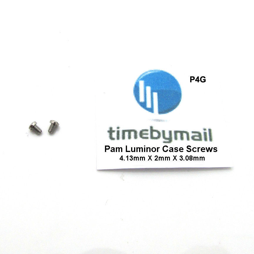 For PANERAI LUMINOR 2X Case Screws 4.13mm / 4.22mm / 4.64mm New Watch Spare Part