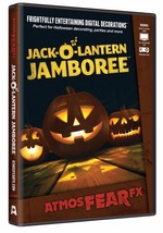 Jack-O-Lantern DVD Prop Atmosfear FX Digital Decoration Halloween ATX0008 - $51.99