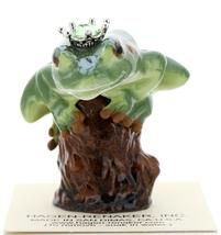 Hagen-Renaker Miniature Tree Frog Figurine Birthstone Prince 08 August Peridot