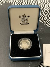 Silver £1 Coin Royal Arms Silver Proof One Pound Coin 2003 - $48.24