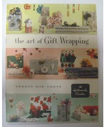 1 VTG Rare Hallmark The Art of Gift Wrapping Booklet Instructions Book  - $8.99