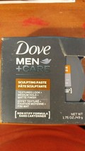 Dove Sculpting Paste Mens Hair Care Texturize Medium Hold Dove 1.75 Oz New H - $9.41