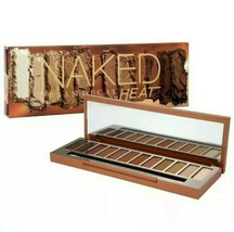 Urban Decay Naked Heat 12 Eyeshadow Palette + Brush NIB Full Size Authentic - $34.72