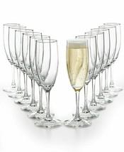 Martha Stewart Essentials 12 Piece champagne cocktail Flutes Set - 5.75-... - $34.99
