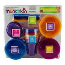 Munchkin 50 Piece TravelWare Reusable Feeding Set Spoons Containers Bowl... - $42.97