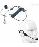 Black ME3 Headset Dynamic Microphone For Shure ULX SLX GLX QLX Wireless HeadWear - $32.66