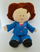 TYCO Rosie O'Donnell Plush Celebrity Talking Doll 1997 18 inch - $18.27