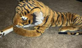 "Beautiful Melissa & Doug JUMBO Stuffed Plush Tiger 67""x20""x14"" - $79.19"