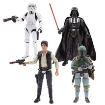 Star Wars SAGA Talking Action Figure Gift Set NEW SEALED - $229.08