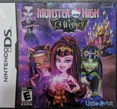 Monster High: 13 Wishes (Nintendo DS) - $14.95