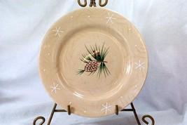 Home 2002 Northwoods Lodge Pinecones Salad Plate - $5.54
