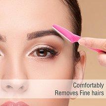 Boao 36 Pieces Eyebrow Razor Trimmer Shaper Shaver for Men and Women, Facial Raz image 4