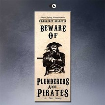 """SteamPunk ART """"Beware of plunderers"""" HD print on canvas huge wall pictur... - $24.74"""