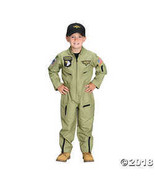 Aeromax Jr. Fighter Pilot Suit with Embroidered Cap, Size 8/10. - $49.98