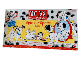 Disney 101 Dalmatians Spin for Spots Board Game Mattel 1996   - $24.18