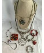 Costume jewelry Necklaces Bracelets pendants - $11.04