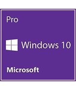 Windows 10 Pro Professional Upgrade Key for 32 and 64 Bit - $9.90