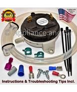 PP60 PP130 PelPro Glowboy Pellet Stove Vacuum Switch + Hose & Clamps, In... - $49.95